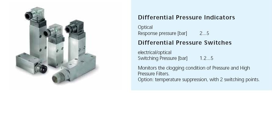 Differential Pressure Indicators and Switches