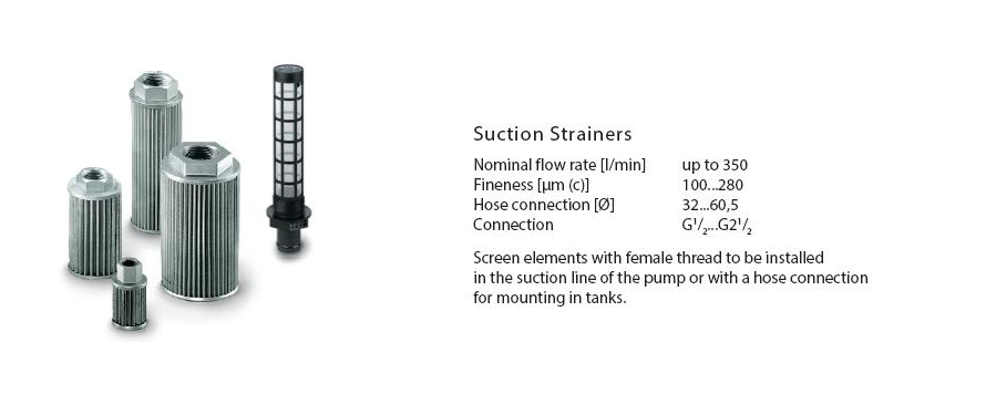 Suction Strainers