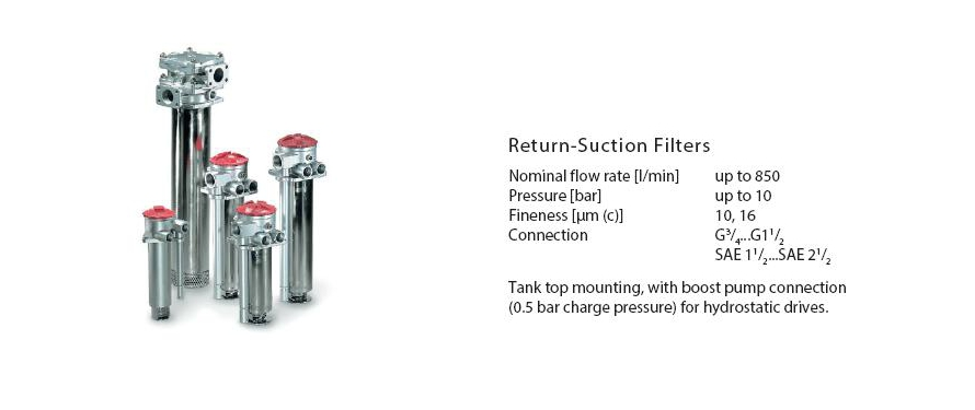 Return Suction Filters