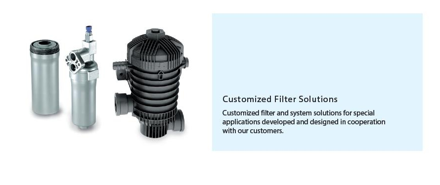 Customized Filter Solutions