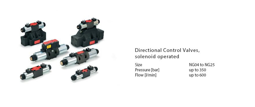 Directional Control Valves (solenoid operated)