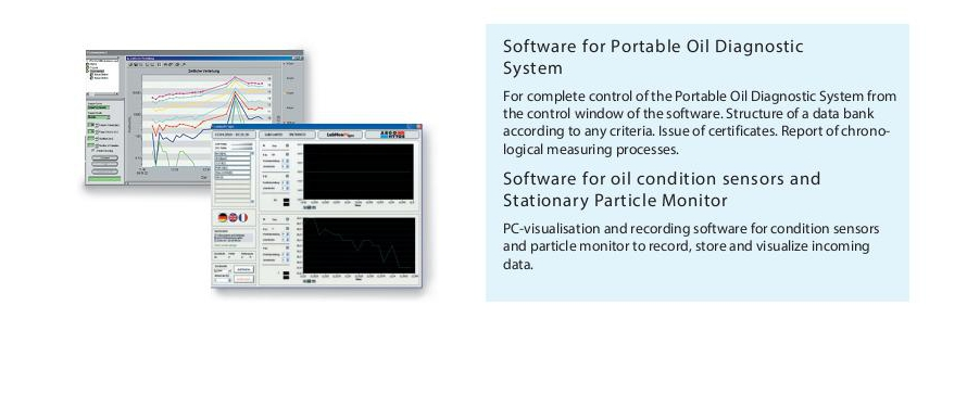 Software for Portable Oil Diagnostic System