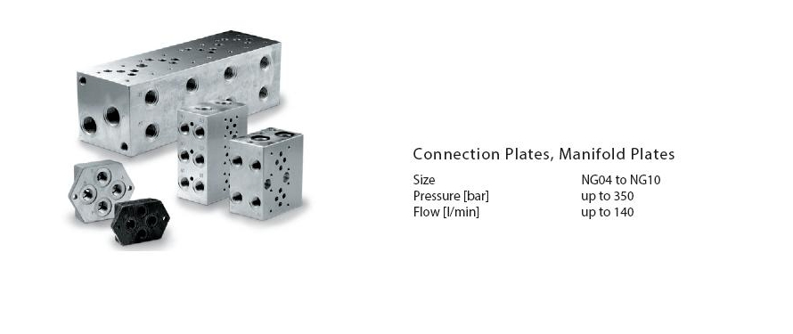 Connection Plates, Manifold Plates